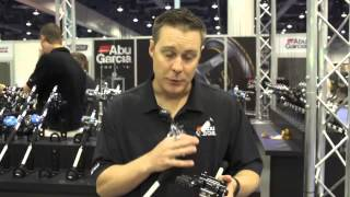 Abu Garcia Ambassadeur Pro Rocket Black Eddition & Record Casting Reels   ICAST 2013