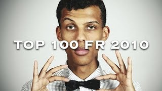 Les 100 plus grands tubes de 2010 en France