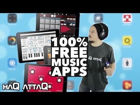 25 FREE Music Making Apps for iOS | NO IAP - haQ attaQ