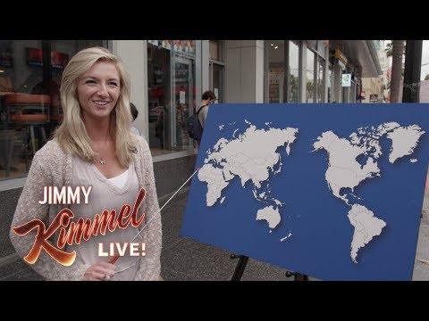 Ukažte na mapě jakýkoliv stát - Jimmy Kimmel Live!