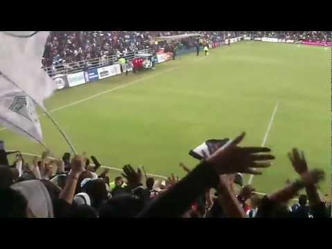 """Barra Ultra Tuza::Pachuca vs Cruz Azul::Cl 2013:: [ XV años sin ser campeon]"" Barra: Barra Ultra Tuza • Club: Pachuca"