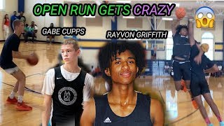 Gabe Cupps & Rayvon Griffith GO OFF In Packed Open Run! These Boys Went Crazy!
