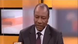 Alpha Condé à Papa Koly Kourouma