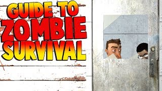A GUIDE TO ZOMBIE SURVIVAL IN A ZOMBIE APOCALYPSE! | Garry's Mod Gameplay | Gmod Roleplay