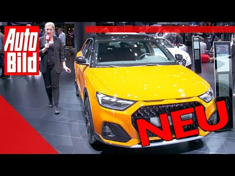 Audi A1 Citycarver (2019): Auto - Neuvorstellung - IAA