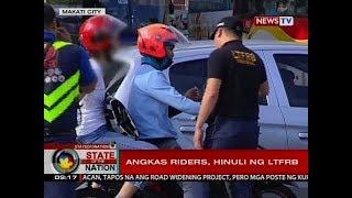 SONA: Ilang pumapasadang Angkas riders, hinuli ng LTFRB