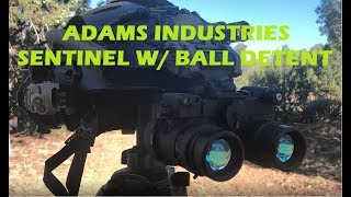 Overview of the AI Sentinel with ball detent mount