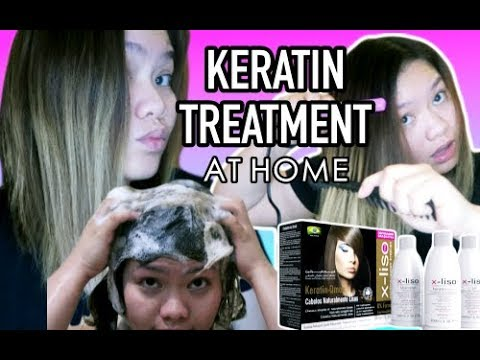 Ultrasonic hair treatment