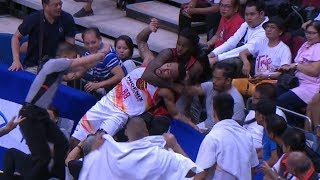 Calvin Abueva Kevin Murphy Scuffle | PBA Governors' Cup 2018
