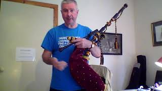 How to Learn the Bagpipes Lesson 24 - Transition to Pipes