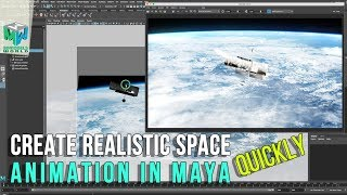 Maya Tutorial: Create Realistic Space Animation Quickly