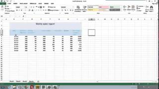 Excel 2013 Tutorial In Amharic Part 011 Formating Cells   YouTube