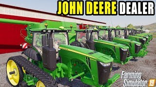 A JOHN DEERE DEALERSHIP IS IN RAVENPORT! | FARMING SIMULATOR  2019