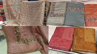 Designer Party Wear Sarees | Stylish Saree Designs||Party Wear Embroidered Saree Blouses