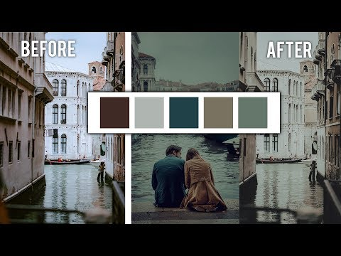 Steal Or Duplicate The Color Grade From Any Photo In Photoshop | Matt n Seb