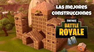 PATIO de JUEGOS de FORTNITE: las mejores construcciones hasta ahora