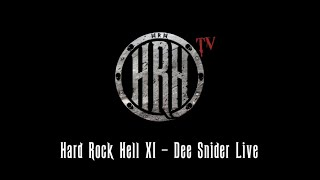 HRH TV – Dee Snider Live @ Hard Rock Hell XI
