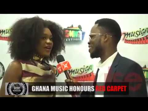 Pulse TV: Ghana Music Honours 2017 red carpet