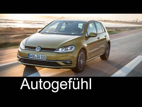 2017 VW Golf Facelift Exterior Interior GTI Preview Volkswagen – Autogefühl
