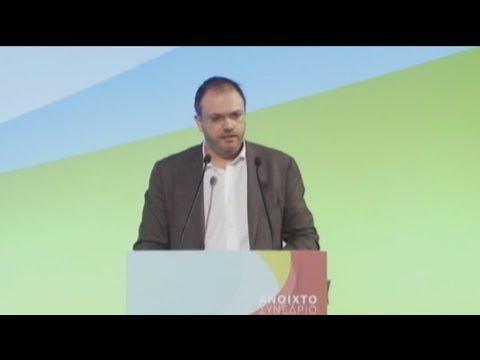 Στο συνέδριο του ΠΟΤΑΜΙΟΥ ο πρόεδρος της ΔΗΜΑΡ