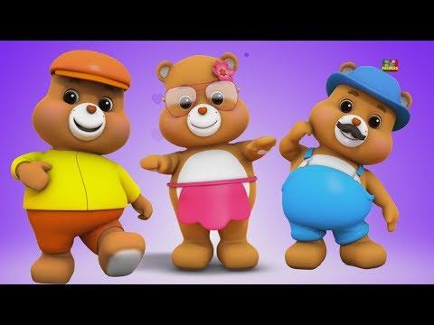 Orsacchiotti dito famiglia | dito famiglia canzone | rime bambino | Teddy Bears finger Family Song