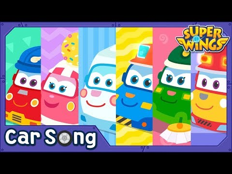 We are Trucks | English Song | SuperWings Songs for Children
