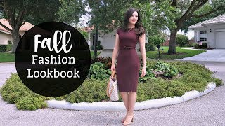 FALL WORK APPROPRIATE OUTFIT LOOKBOOK