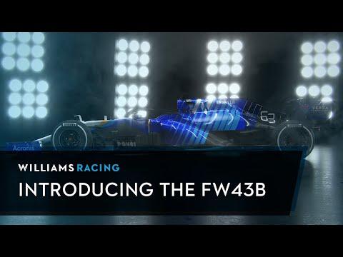 F1 2021 ウィリアムズ「FW43B」が世界初公開!動画で見るFW43B