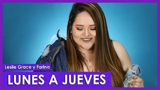 Lunes A Jueves   Leslie Grace, Farina Cover By Susan Prieto