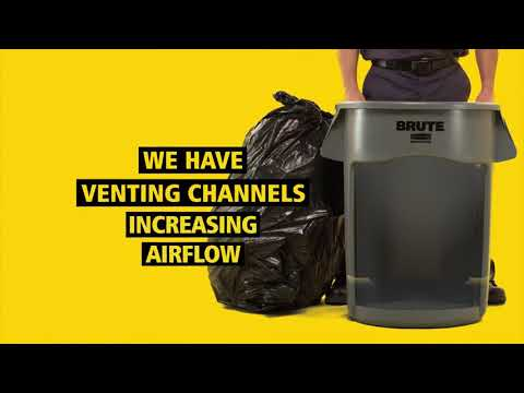 Product video for Vented BRUTE® 20 Gal Gray