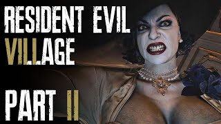 Tall vampire lady in the video title [Resident Evil Village - Part 2]