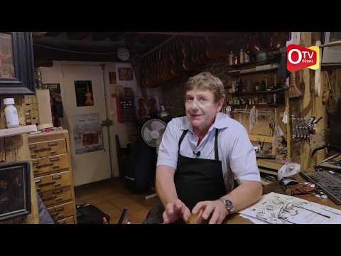 Denis Caban, luthier Orléanais.