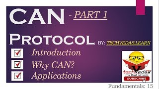 CAN Protocol Tutorial | Controller Area Network | CAN bus