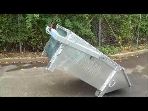 Kippvorrichtung Vollautomatik für Allzweck-Container