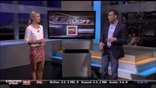 Allie LaForce in a Short Skirt