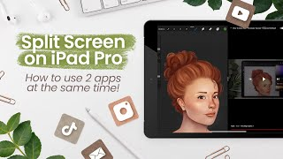 How To Use Two Apps At The Same Time | iPad Pro Split Screen | Multitasking