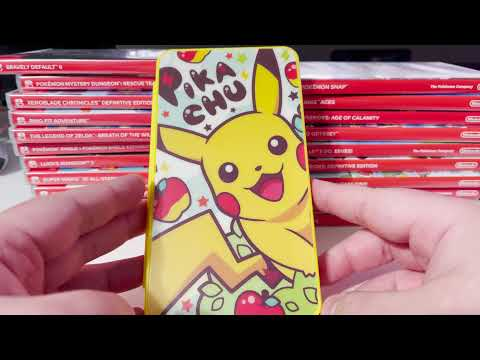 Nintendo Switch Accessories - 24 Game Card Holder from Amazon (DAHAKII) PIKACHU THEMED