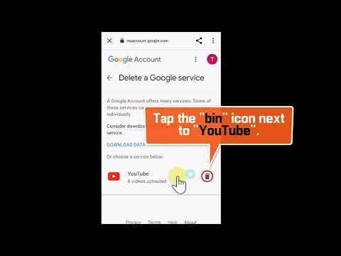 How to Delete YouTube Channel on Phone 2021