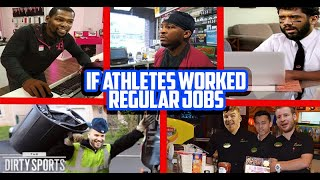IF ATHLETES WORKED REGULAR JOBS