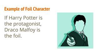 What is a foil character