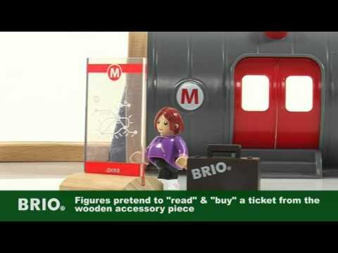 BRIO World - 33513 Metro Railway Set
