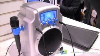 Discover Karaoke, a simple and cheap karaoke system by ION, CES 2011, Vegas