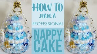 How To Make A Professional Nappy Cake