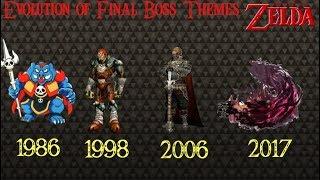 Evolution Of Final Boss Themes 1986  2017 (The Legend Of Zelda)