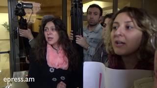 Բռնապետարան. Ավագանու կանանց պաշտպաններին ևս ծեծեցին