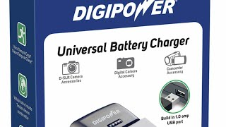 Digipower universal battery charger (review)(tutorial)