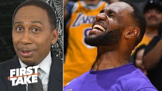 LeBron has been a 'monster' and he's only getting started – Stephen A. | First Take
