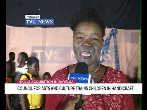 COUNCIL FOR ARTS AND CULTURE TRAINS CHILDREN IN HANDICRAFT