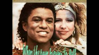 Jermaine Jackson & Pia Zadora - When The Rain Begins To Fall (Extended Version)