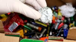 Reciclar pilhas porquê?